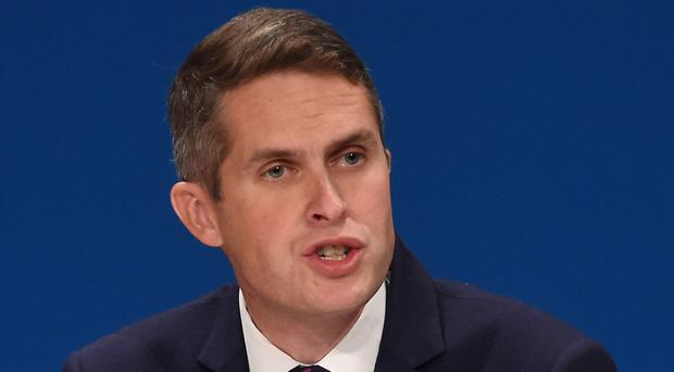 Gavin Williamson faces a diplomatic row over the fate of the 'Beatles' terror suspects (Joe Giddens/PA)