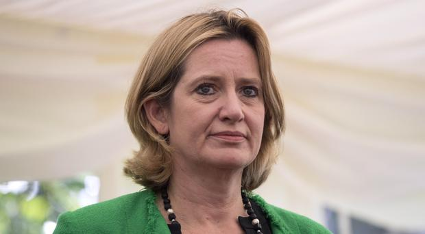 Home Secretary Amber Rudd said the Government is taking the lead in efforts to stamp out online terror content (Dan Kitwood/PA)