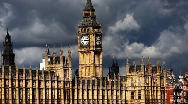 A House of Commons spokesman said the incident was ongoing (Steve Parsons/PA)