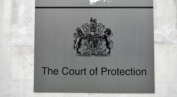 The judge analysed the case at a hearing in the Court of Protection (Nick Ansell/PA)