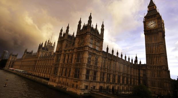 There were few signs of concern around the Palace of Westminster as reports began to emerge of a heavy police presence (PA)