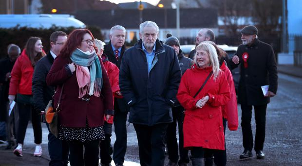 Jeremy Corbyn visit to Scotland (Jane Barlow/PA)
