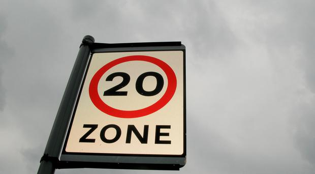 More than four lives a year have been saved since the introduction of 20mph zones in one of Britain's major cities, a study has found (Stephen Kelly/PA)