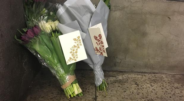 Flowers and cards from Labour leader Jeremy Corbyn and his staff (Isabel Togoh/PA)