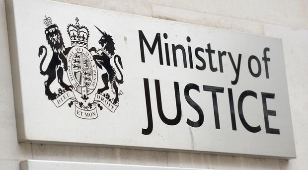 The Ministry of Justice has published figures on the prison service workforce (Kirsty O'Connor/PA)