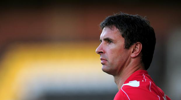 Gary Speed was found dead by his wife at their home address on November 27 2011 (Steve Drew/Empics/PA)