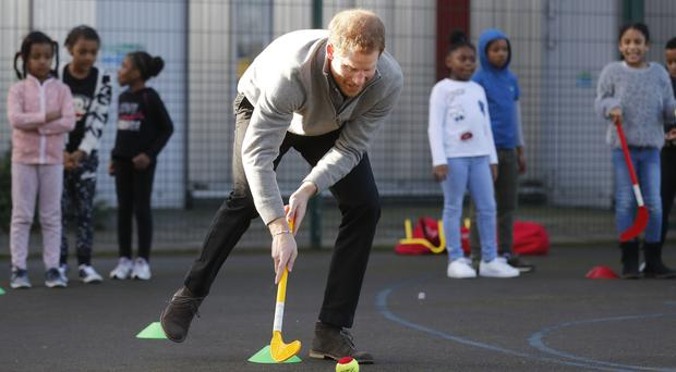 Royal visit to Roundwood Youth Centre