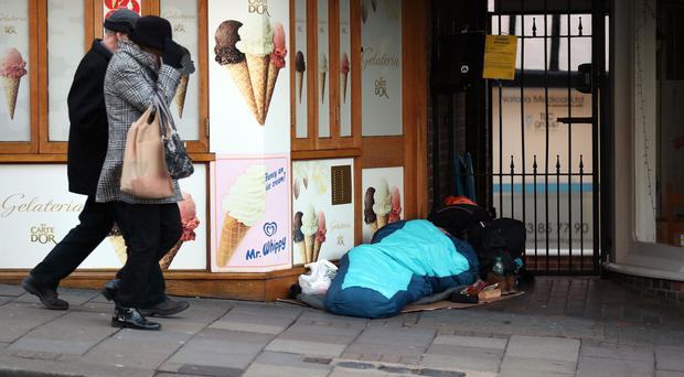 Plans to fine homeless people in Windsor have been dropped, it is claimed (Steve Parsons/PA)