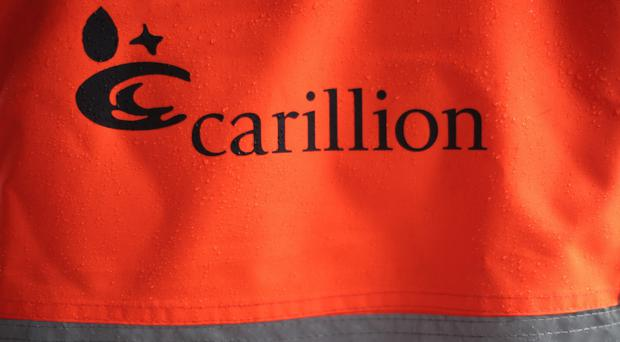 Carillion collapsed in January with debts of £1.3bn (Yui Mok/PA)