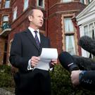 Ukip leader Henry Bolton will learn his fate (Gareth Fuller/PA)