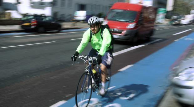 The Government has announced it will invest in more cycle safety schemes (Lewis Whyld/PA)