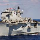 HMS Ocean has been sold to the Brazilian Navy (MoD handout/PA)