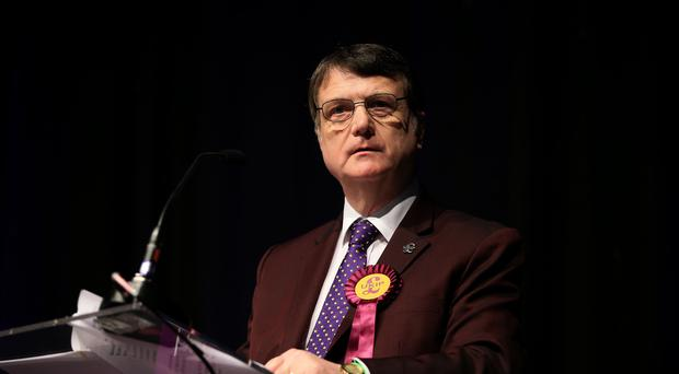 Interim Ukip leader Gerard Batten (Peter Byrne/PA)