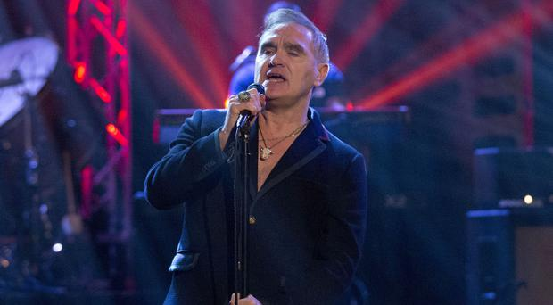 Morrissey angered some fans in Glasgow over his First Minister comments (Isabel Infantes/PA)