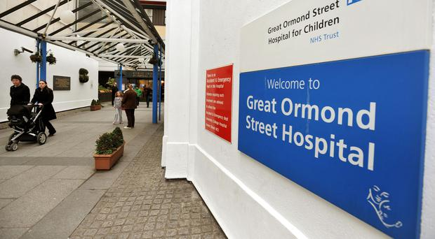 Great Ormond Street Hospital is in talks about funds donated by the Presidents Club trust (John Stillwell/PA)