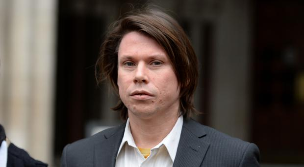 Alleged computer hacker Lauri Love outside the Royal Courts of Justice in London (Kirsty O'Connor/PA)