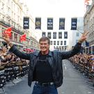 Baywatch star David Hasselhoff on Regent Street in central London (Dominic Lipinski/PA)