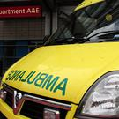 West Midlands Ambulance Service staff issued a social media appeal aimed at tracking down the person who left the note (Rui Viera/PA)