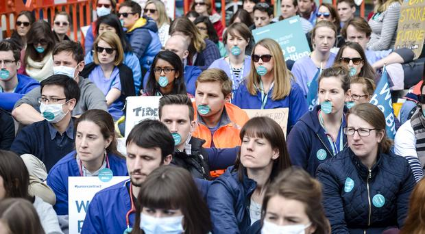 The junior doctors' strike had an effect on hospital care( Ben BIrchall/PA)