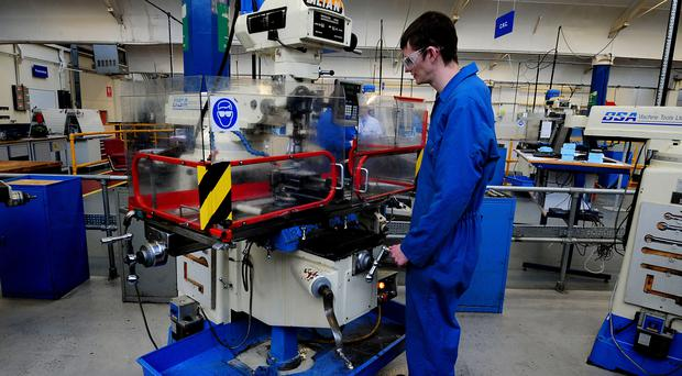 Apprenticeship levy attacked by manufacturing organisation (Rui Vieira/PA)
