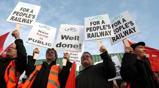 Campaigners have called for the East Coast Mainline to be renationalised (Dominic Lipinski/PA)