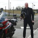 William tries out a Triumph Tiger 1200 XRT (Ian Vogler/Daily Mirror/PA)