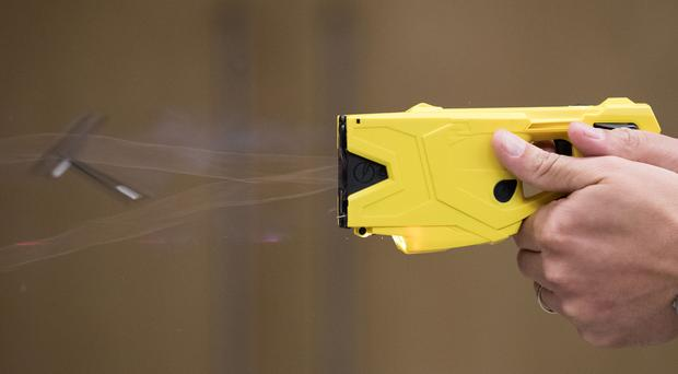 Police chiefs have backed plans to allow new recruits to carry a Taser (Aaron Chown/PA)