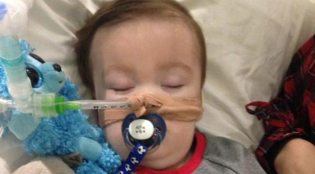 Alfie Evans is in a 'semi-vegetative state', the court heard (Alfie's Army Official/PA)