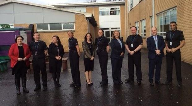 More Glasgow schools now have campus police officers (Andrew Milligan/PA)