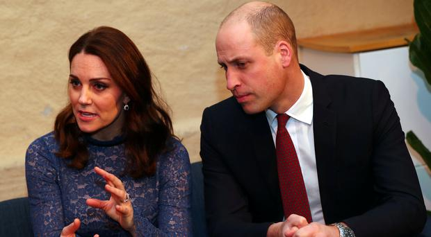The Duke and Duchess of Cambridge will visit Sunderland (Hannah McKay/PA)