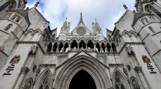 Royal Courts of Justice (Nick Ansell/PA)