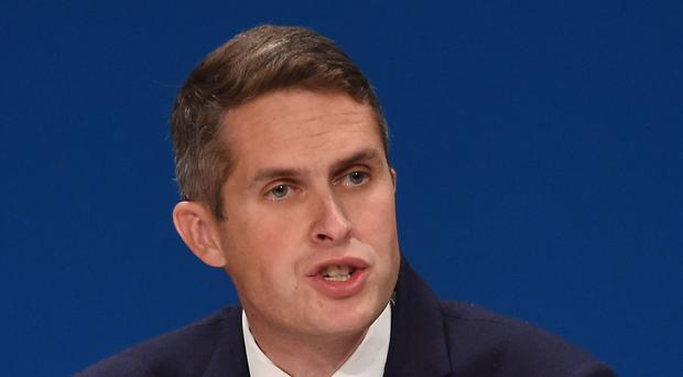Gavin Williamson has said the armed forces need more funding this year (Joe Giddens/PA)