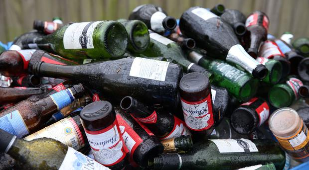 Three quarters of all alcohol consumed in Wales is drunk by less than a quarter of the adult population, according to research (Steve Parsons/PA)