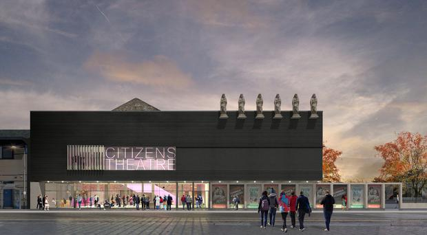 An artist's impression of how the Citizens theatre will look