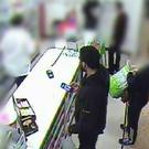 Would-be bomber Munir Mohammed wsa seen on CCTV visiting Ace Discounts in Derby where he looked at pressure cookers (Counter Terrorism Policing/PA)