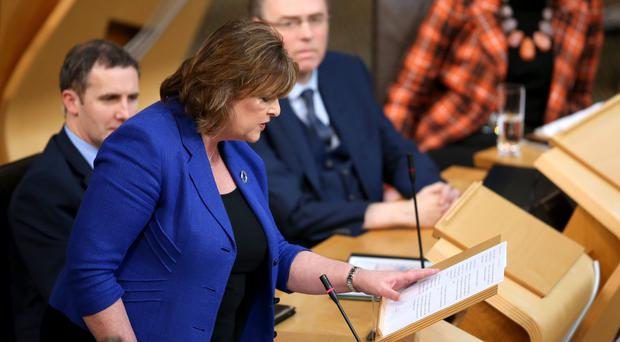Fiona Hyslop wants to build consensus in Scotland around the issue of immigration (Jane Barlow/PA)