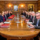 The EUXT (SN) sub-Committee away day at Chequers (Downing Street/PA)