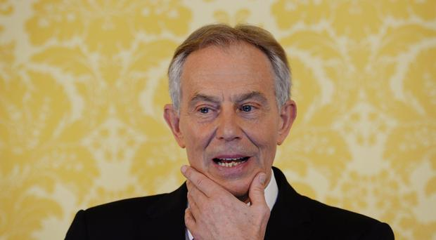 Tony Blair has called for the British people to be given a vote on the final Brexit deal (Stefan Rousseau/PA)