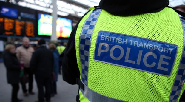 British Transport Police arrested the man at London King's Cross (Andrew Milligan/PA)