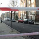 The scene on Bartholomew Road in Camden, London, after a young man was fatally stabbed (Yui Mok/PA)