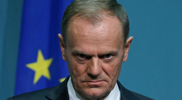 President of the European Council Donald Tusk warns Britain's Brexit plans are an 'illusion' (Laura Hutton/PA)