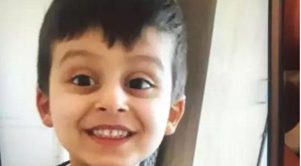 A manhunt began after Abdullah Mohammed disappeared while playing football in a play area (Metropolitan Police/PA)