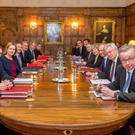 Brexit sub-committee away day at Chequers