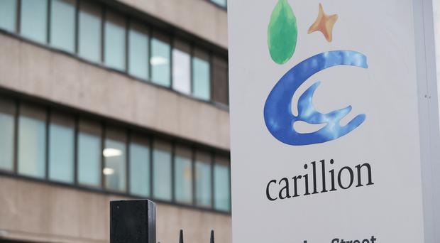 The Carillion offices in Wolverhampton (Aaron Chown/PA)