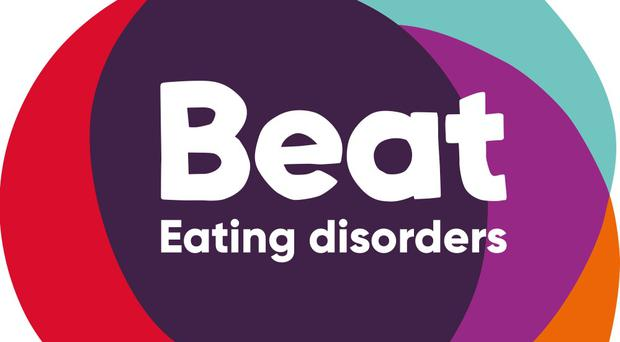 Beat revealed many adults are unable to name any symptoms of eating disorders (Beat/PA)