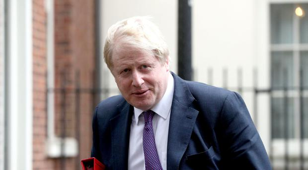 Boris Johnson says he hopes the west will not stand by if evidence of further use of chemical weapons in Syria comes to light (Jonathan Brady/PA)
