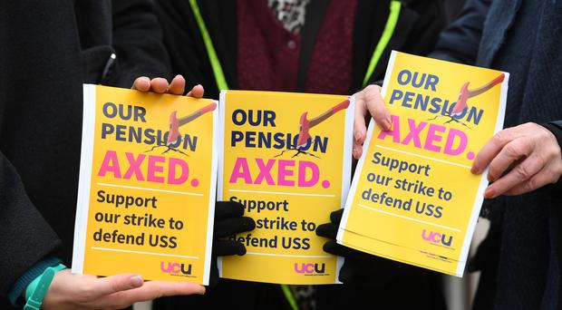 University employers and union officials are due to meet for talks in the latest stage in a bitter row over pensions (Joe Giddens/PA)