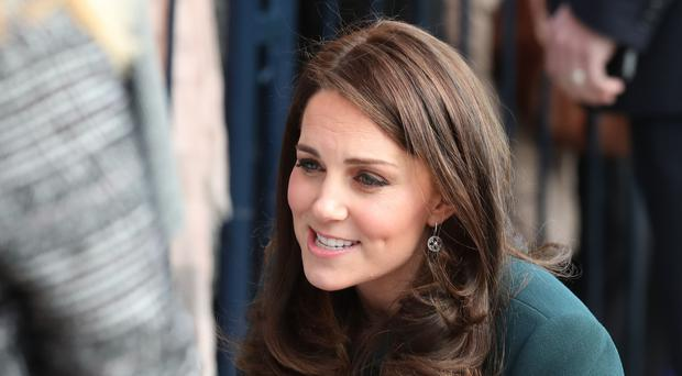 Kate will visit the Snow Leopard ward at London's St Thomas's Hospital (Jane Barlow/PA)