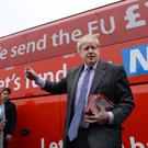 During the EU referendum campaign, Boris Johnson said there would be no change to the border between the Republic and Northern Ireland.