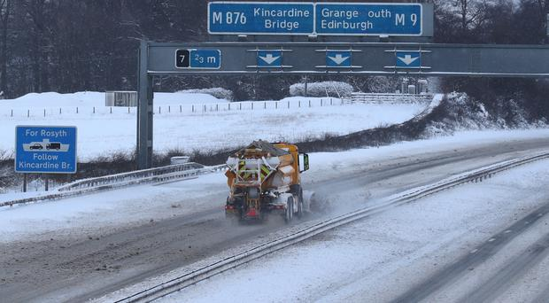 Travel across the UK has been hit by weather disruption (Andrew Milligan/PA)